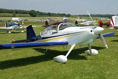 G-JSRV Vans RV-6 (PFA 181A-14407)  Popham 080608