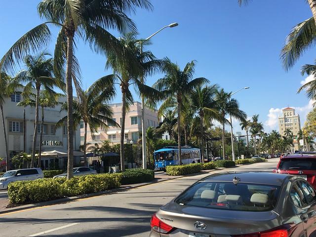 マイアミの街並み