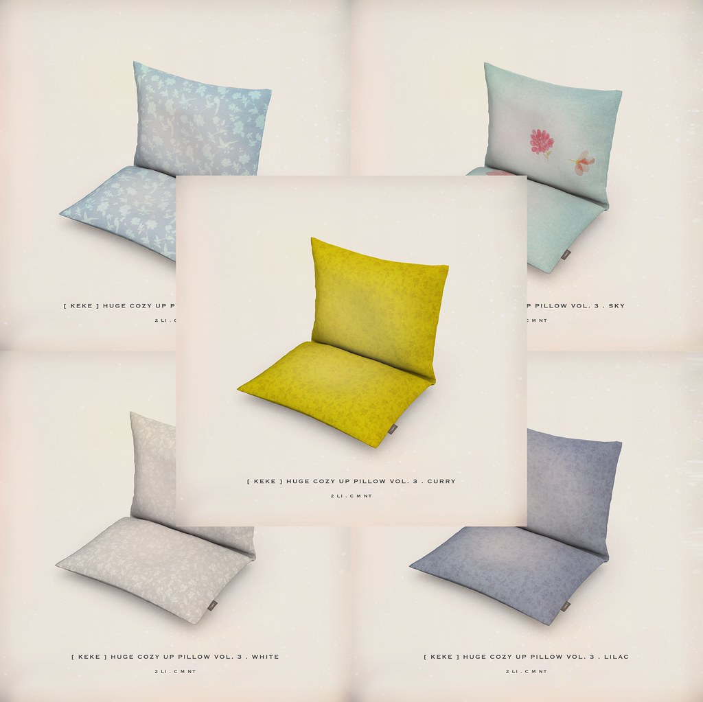 [ keke ] huge cozy up pillow vol 3