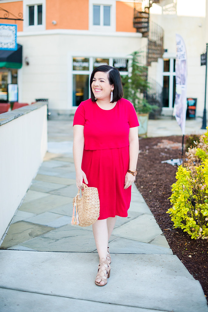 Red Dress-@headtotoechic-Head to Toe Chic