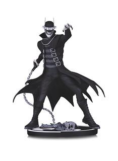 小丑跟蝙蝠俠必須合而為一才會完整!! DC Collectibles 蝙蝠俠黑白雕像系列【大笑蝙蝠俠】The Batman Who Laughs 全身雕像作品
