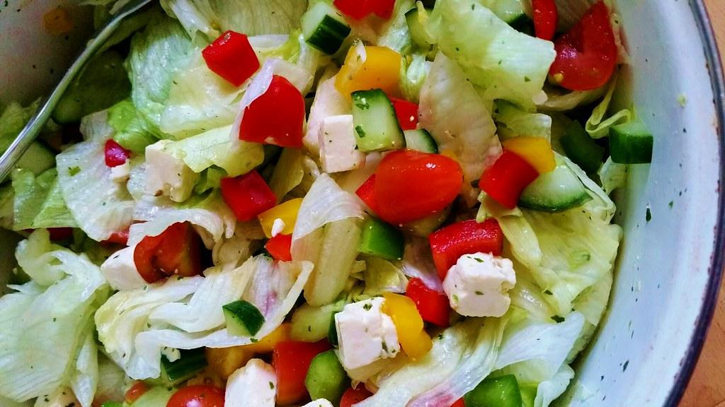 en salade verte