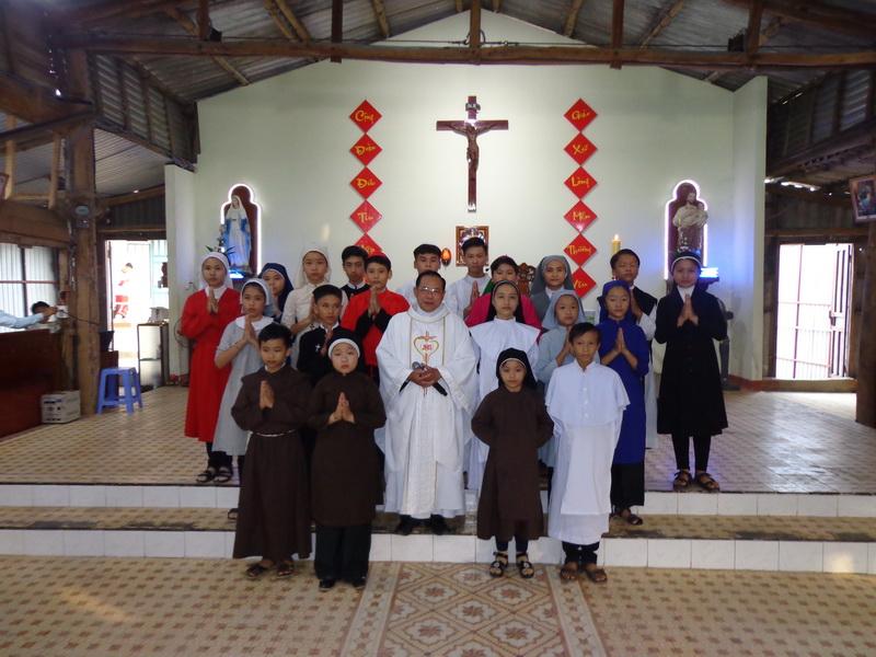 Lễ Chúa Chiên Lành tại Giáo xứ Bình Hải