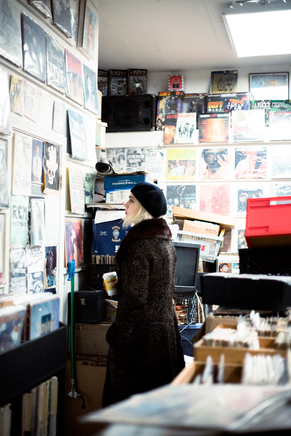 Record Shopping with... Sunflower Bean