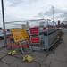 Ashted Circus redevelopment - Subway Closed
