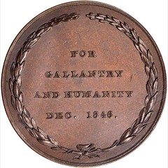 Bache Coast Survey Medal reverse