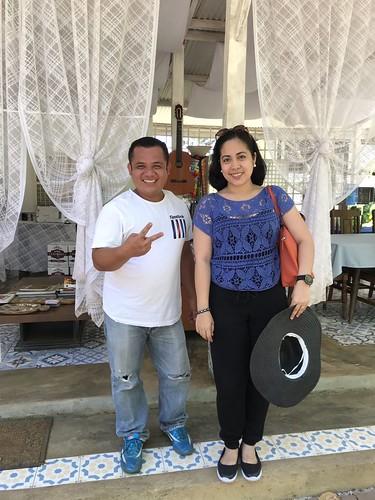 with bryan palawan tour guide
