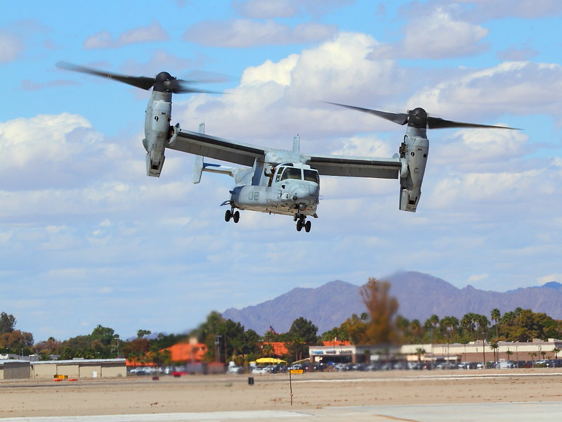IMG_3246 MV-22B Osprey, MCAS Yuma Air Show