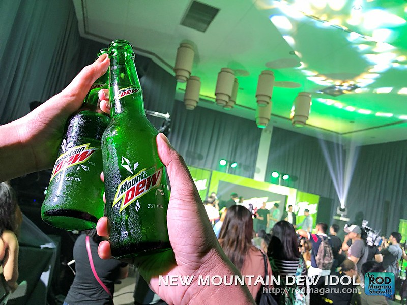 DEW IDOL JAMES REID MOUNTAIN DEW 24