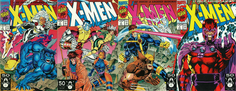 xmeXMEN #1 Comicbook covers n1