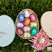 Neuhaus Easter Chocolate Eggs - Little Yellow Egg box and Little Blue Egg box