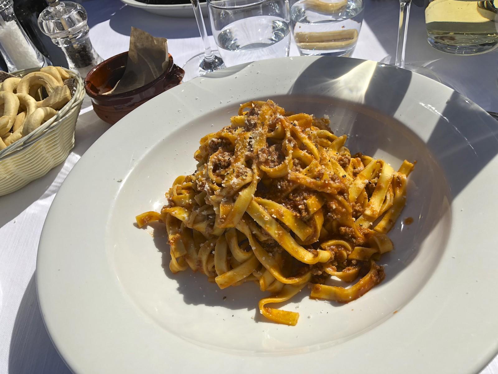 Etelä-Italia ja ravintolat