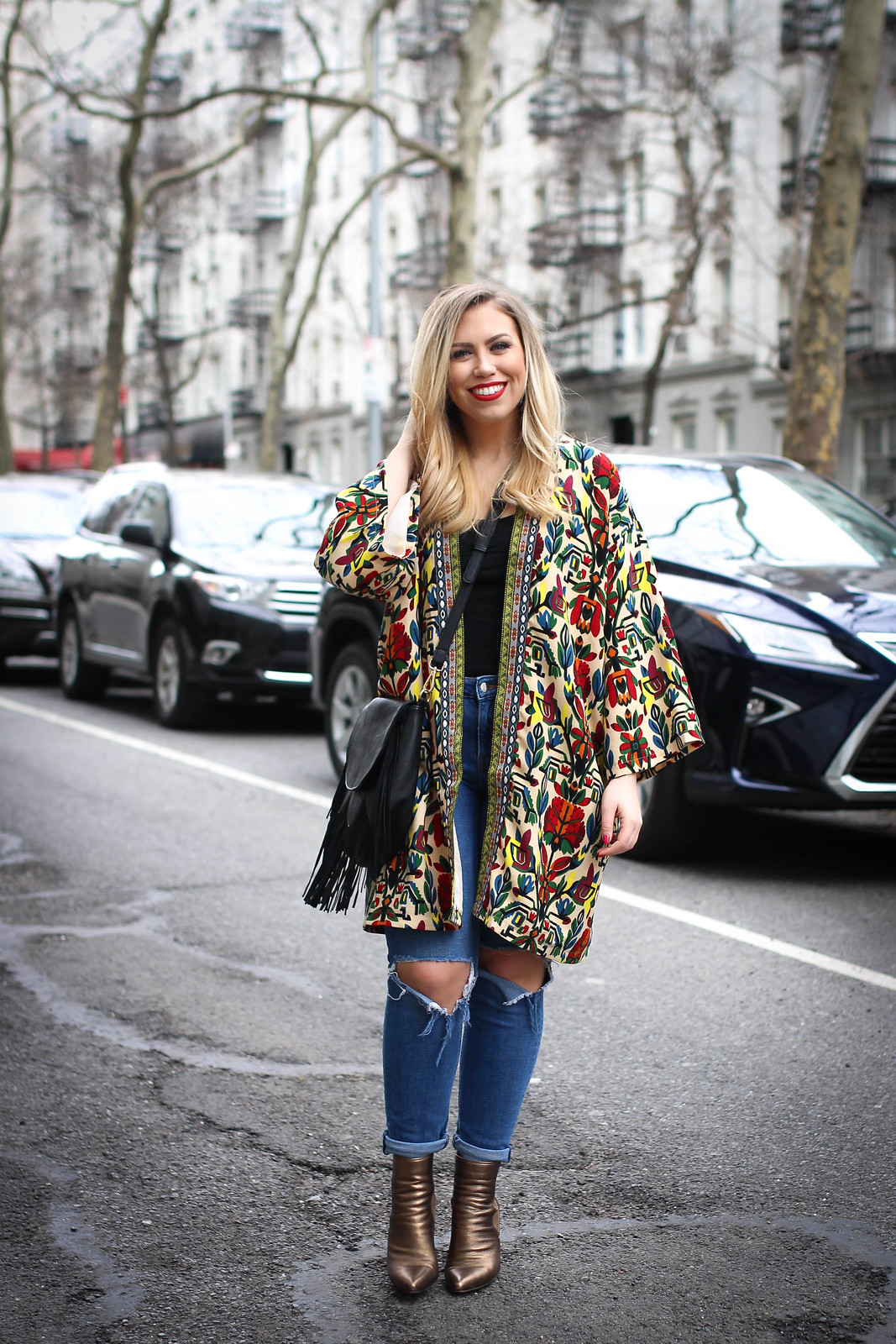 Affordable Fashion: 10 Inexpensive Spring Statement Pieces Living After Midnite Spring Outfit Jackie Giardina Style Fashion Blogger