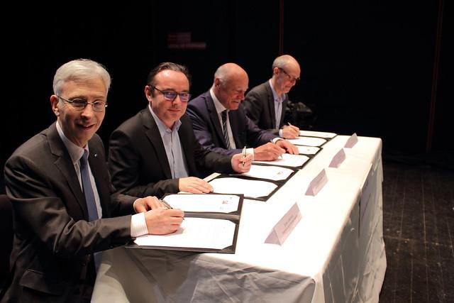 Signature du contrat de filière Nouvelle-Aquitaine 2018-2020