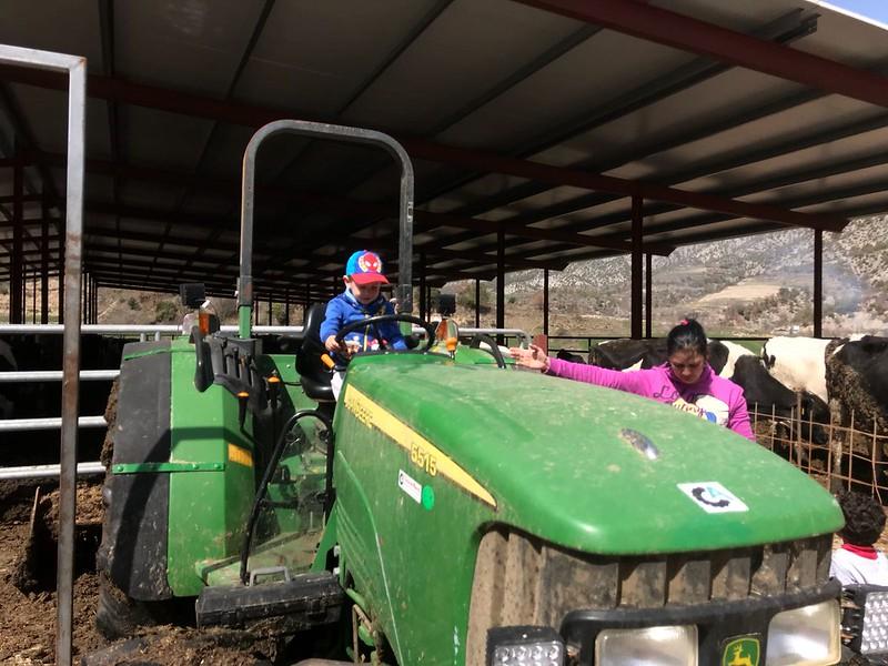 Visita a la granja del Pep i la Blau
