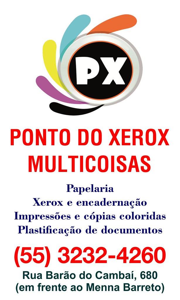 Anúncio Ponto do Xerox