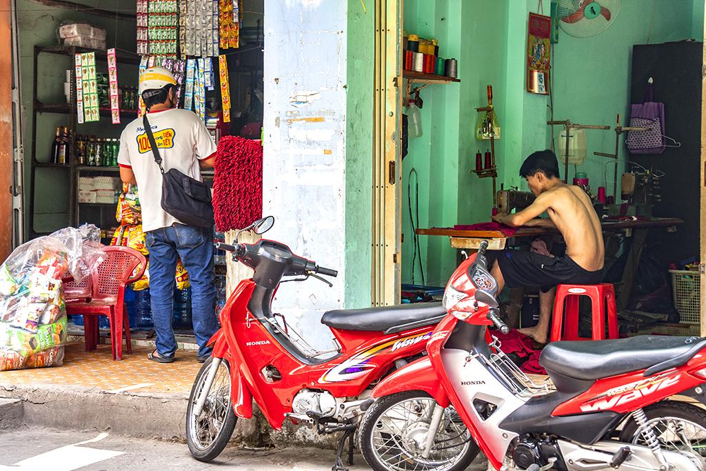 Alley tailor--Saigon