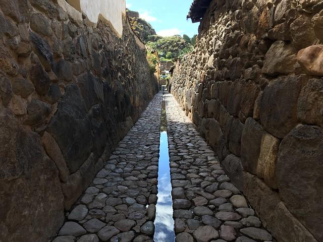 インカの水路