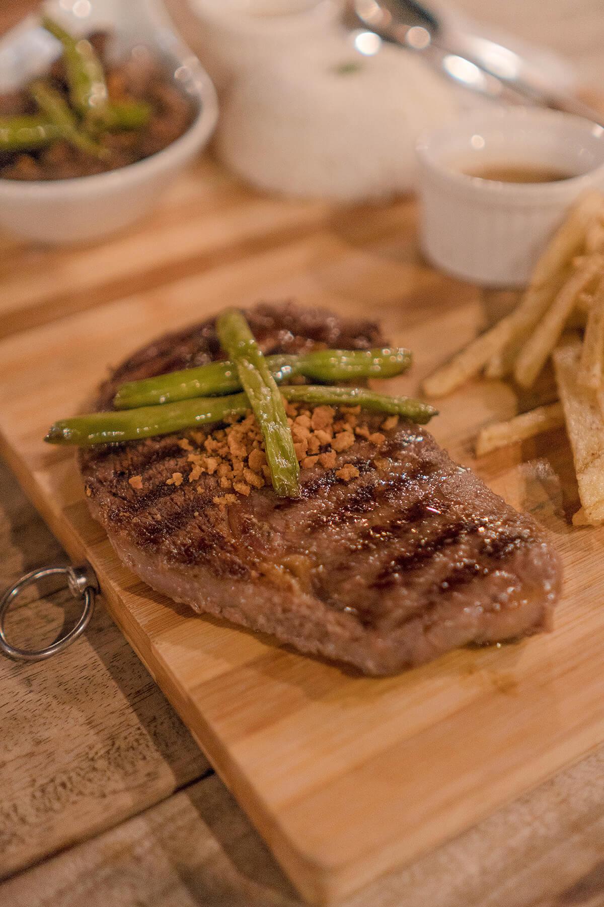 Beach Bum Food Park La Union Rustic Box Steak