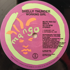 SHELLY THUNDER:WORKING GIRL(LABEL SIDE-B)