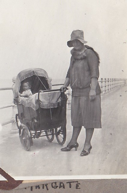 Mother and Child at Margate Kent 1930