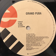 GRAND PUBA:I LIKE IT(I WANNA BE WHERE YOU ARE)(LABEL SIDE-B)