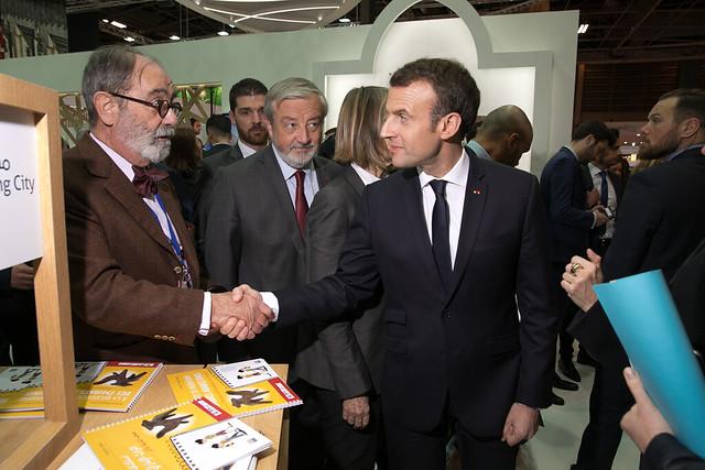 Emmanuel Macron // LIVRE PARIS 2018 _ Inauguration
