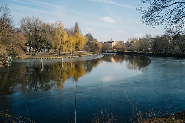 Frühlingsbeginn in Berlin.