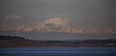 Mt. Baker before sunset