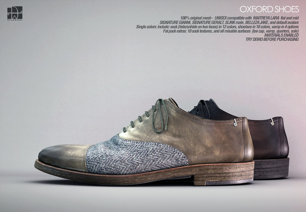 [Deadwool] Oxford shoes for Shoetopia. - TeleportHub.com Live!
