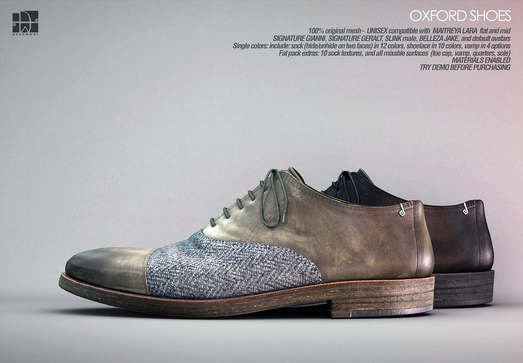 [Deadwool] Oxford shoes for Shoetopia.