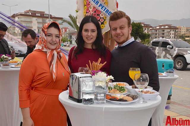 Hülya Okşar, Tuba Nalbur, Murat Tolga Nalbur
