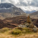 Cairn on top of Green Crag. by Tall Guy