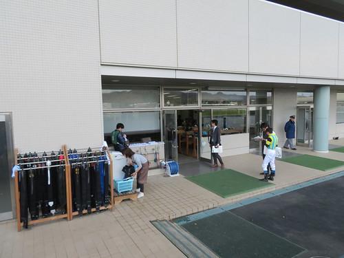 福島競馬場の検量室