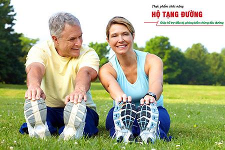 Người bệnh tiểu đường nên tập luyện ít nhất 30 phút mỗi ngày