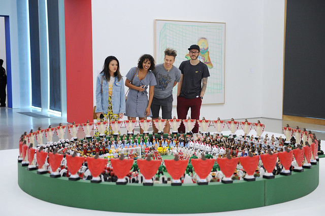 "Opening Celebration for ""The World's Game: Fútbol and Contemporary Art"""