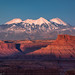 La Sal Sunset by Bill Bowman