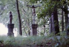 Bayern Gipfelkreuz Tiefenbach Oberpfalz 1987