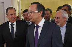 Встреча министров иностранных дел стран-гарантов Астанинского процесса содействия сирийскому урегулированию
