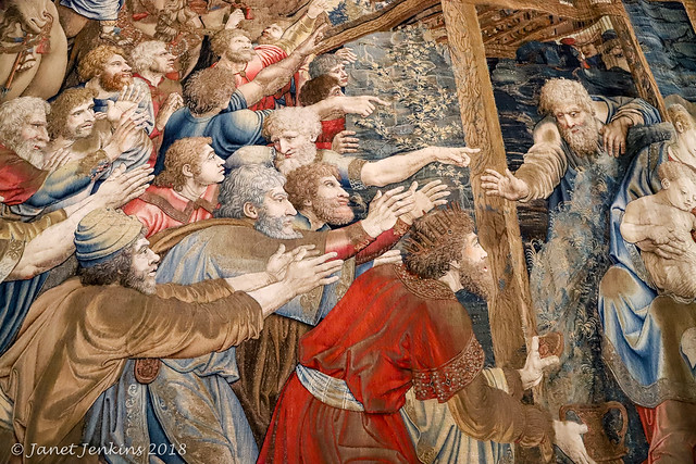Wall Tapestry, Vatican Museum