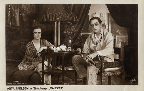 Asta Nielsen and Karl Meinhardt in Rausch (1919)