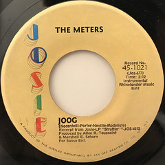 THE METERS:HAND CLAPPING SONG(LABEL SIDE-B)