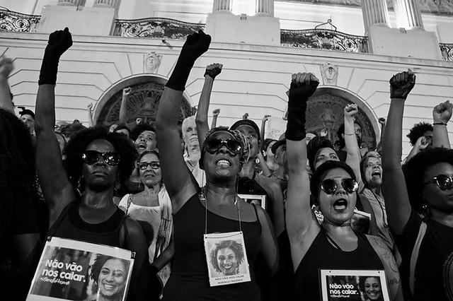 Protestas en Río por el asesinato de Marielle Franco - Créditos: Fábio Caffé/ Favela em Foco