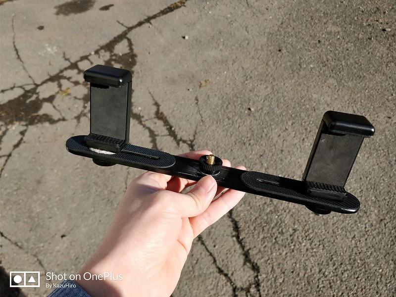 3つのスマホを同時に撮影する装置 (9)
