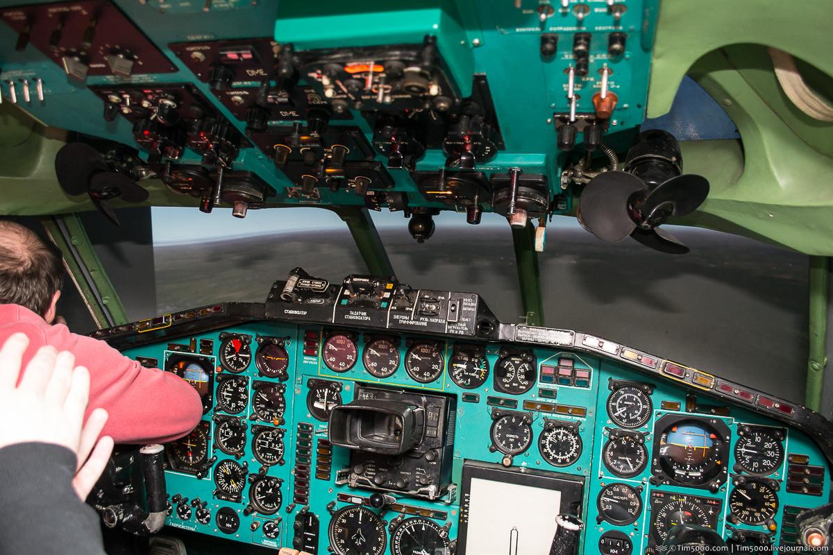 Авиасимулятор Ту-154Б2 в Киеве