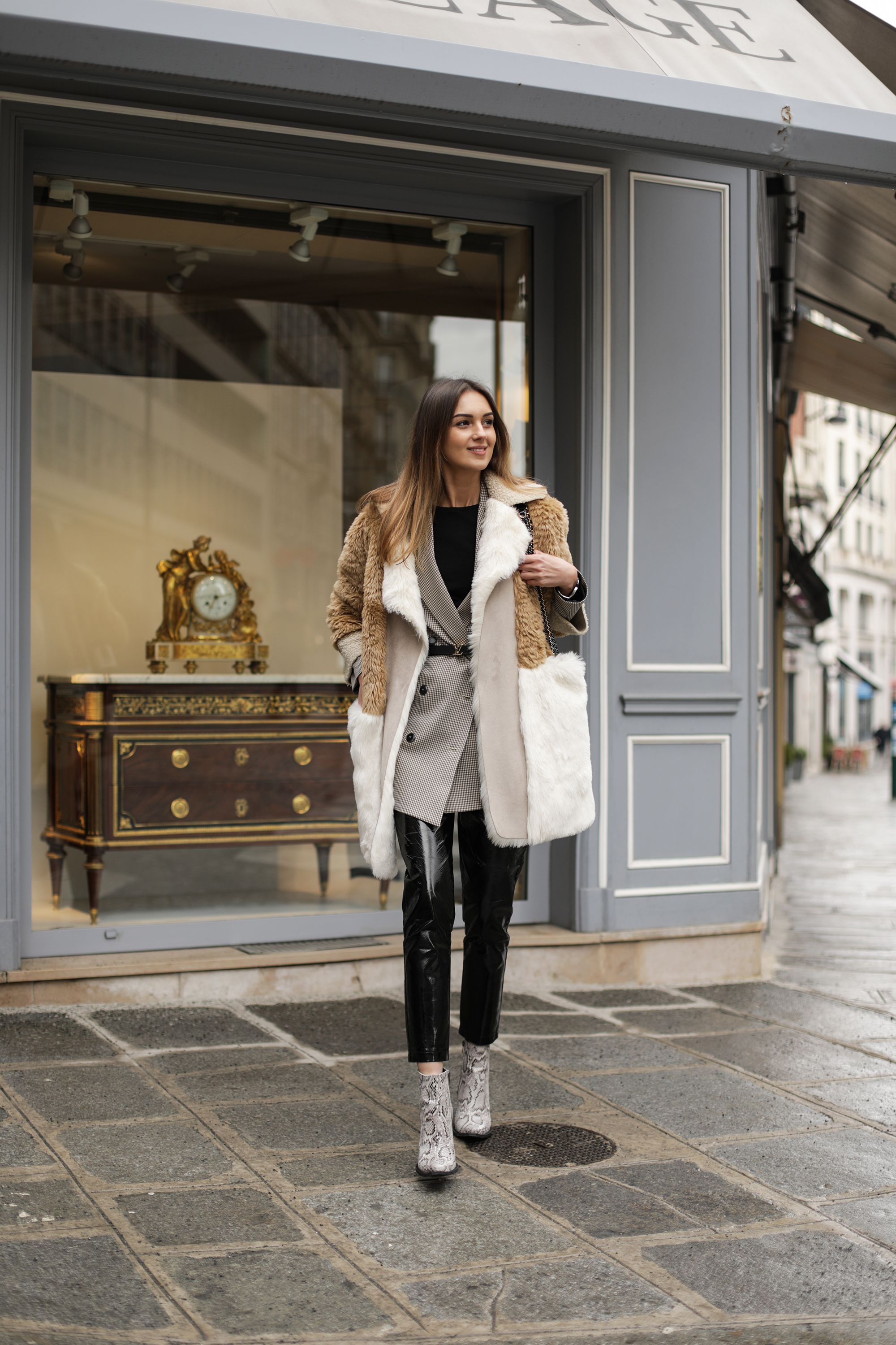 faux-fur-jacket-vinyl-pants-outfit
