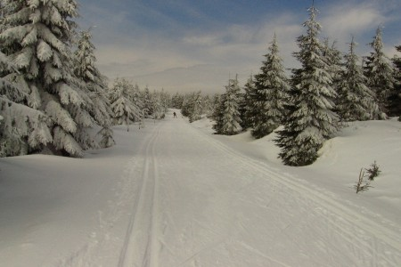 Čerstvý sníh na horách