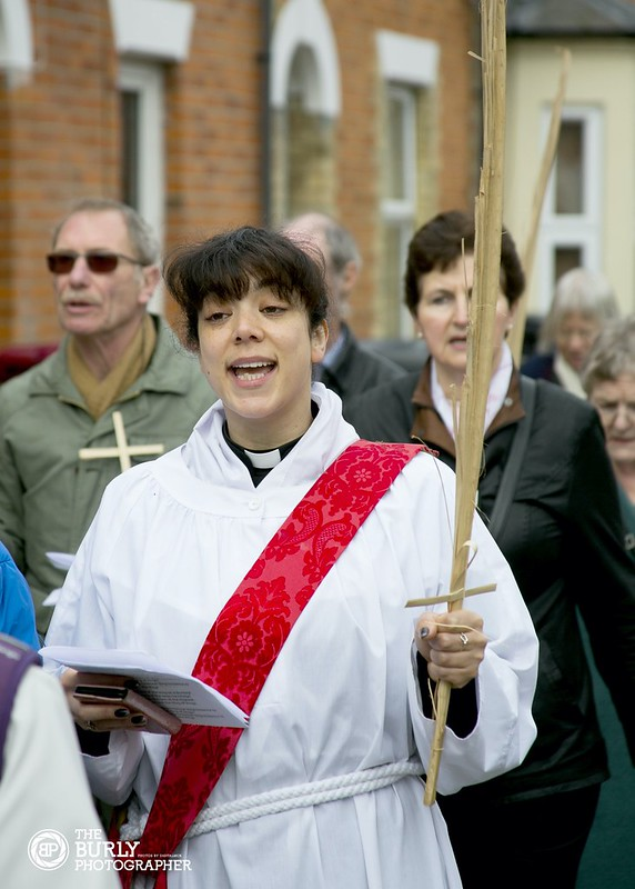 Palm Sunday St Lukes Church in Reading
