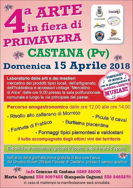 Primo evento di Primavera 2018