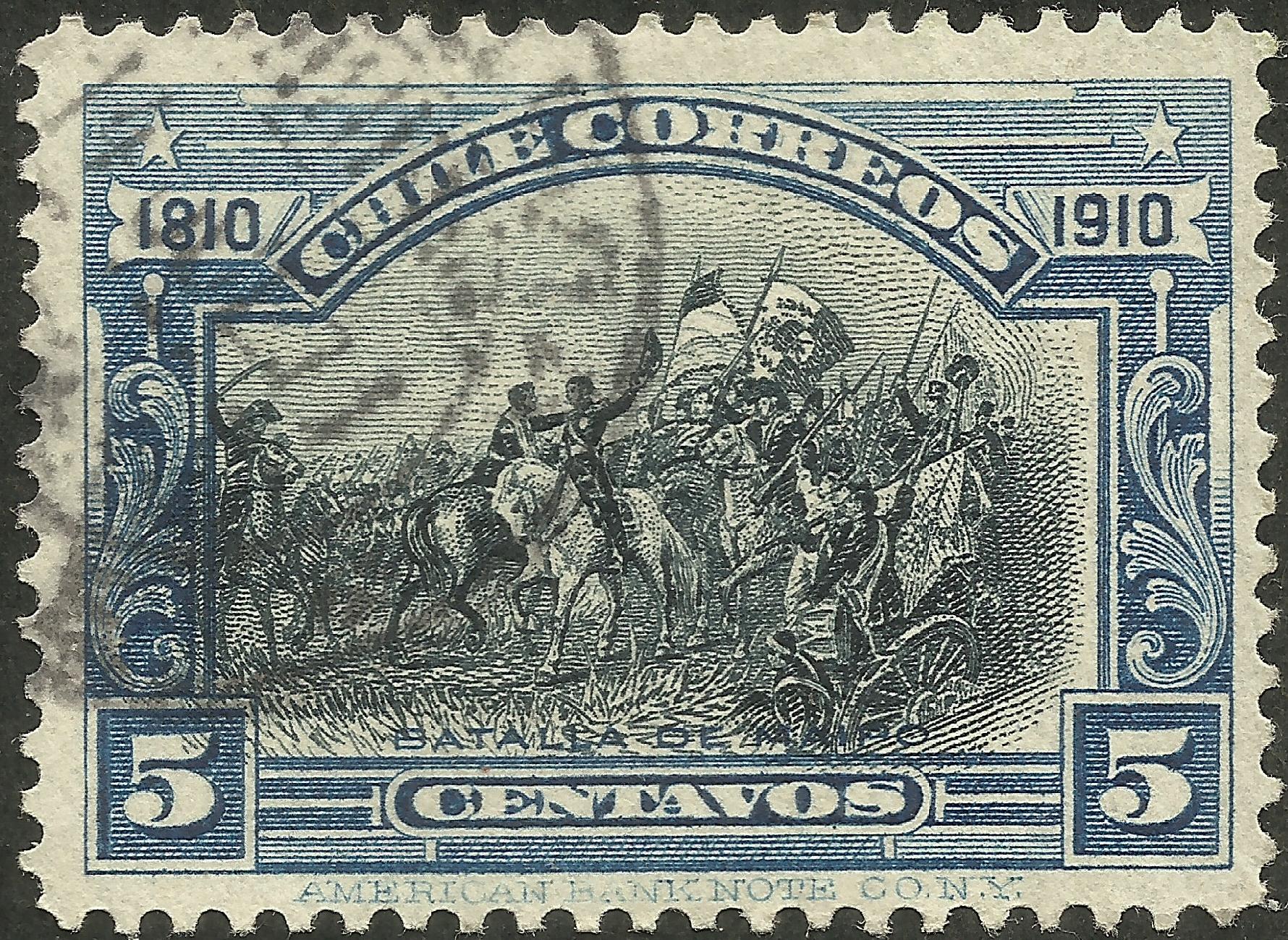 Chile - Scott #86 (1910)